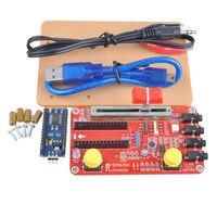 Scratch Kit for Arduino USB Cable Alligator Clip Box