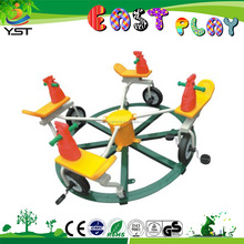 Kids outdoor mini Turntable amusement rider toys