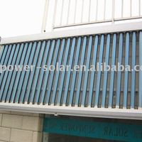 Heat Pipe Solar Collector With Vacuum