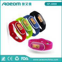 Wristband Calories Pedometer Fitness Tracker Silicone Wristband Pedometer