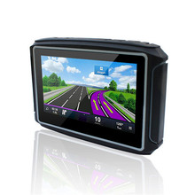 KARADAR Waterproof Motorcycle GPS - 4.3 Inch Win CE 6.0 Car GPS Navigator - Built-in 8GB Flash DDR256 with Map-FM/Bluetooth