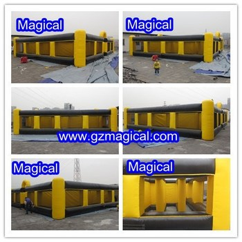 Giant outdoor inflatable maze obstacle course / inflatable maze for sale