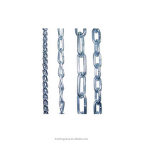 China OEM Welded Iron Round Short Link Chain