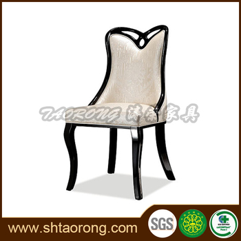 Hotel bedroom wooden upholstered writing chair TRCH-803