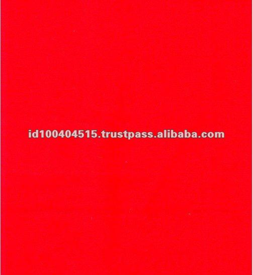 Red Color 100% Cotton Twill Fabric Fire Retardant / resistant