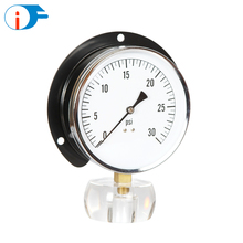 127 mm China Back Flange and Black Steel Case Dry Digital Manometer