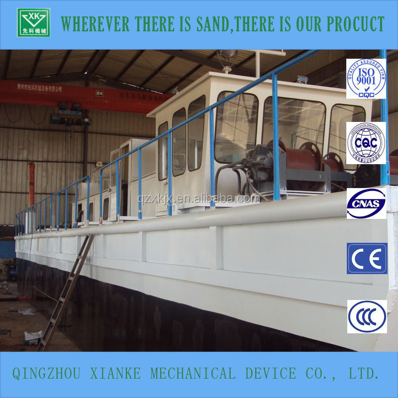 Hydraulic Cutter Head River Cleaning Boat for sale