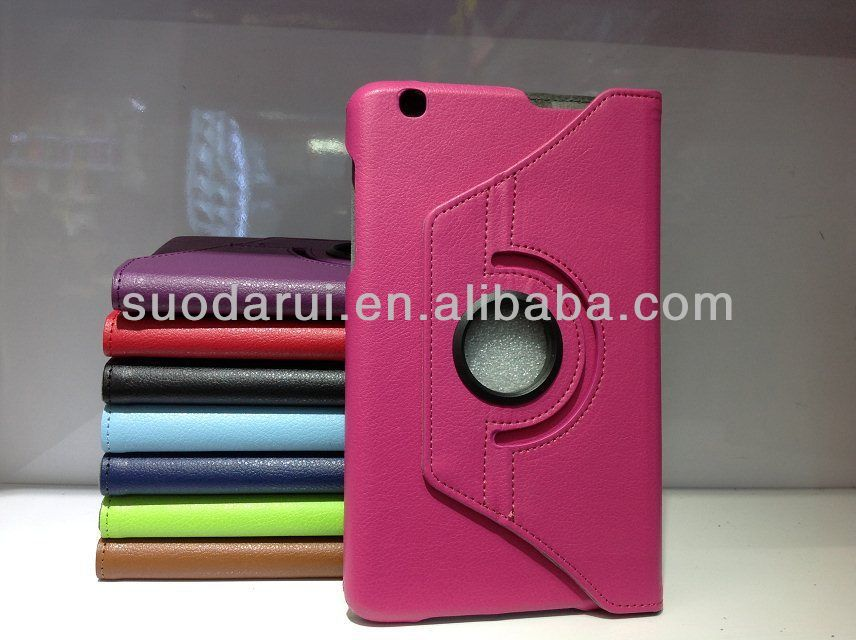 360 Rotating Swivel Leather Case cover For LG G Pad 8.3 Inch Tab V500-suodarui