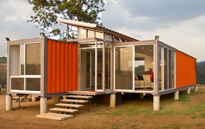 Prebuilt steel structure container home for sale