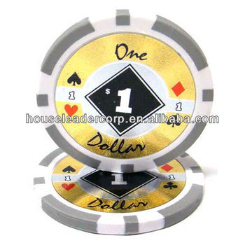 11.5g designed poker chips / custom designed poker chips