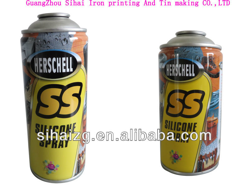 different volume spray silicon can manufacturer