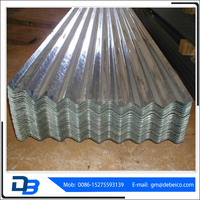 Building material factory price long span zinc roofing sheet