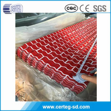 China making prepainted galvanized steel sheet roofing steel sheet for decoration used