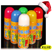 Christmas decorations outdoor Supplies Type and Indoor Christmas Decoration Christmas Item Type colored spray snow