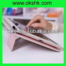 New arrival protector for apple ipad air 5 lether case