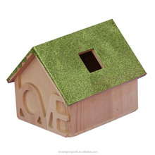 New unfinished chinese cheap wholesale wooden pigeons bird house for sale