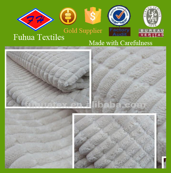 2.5W nylon polyester corduroy fabric/wide wale corduroy fabric for cushion,sofa