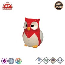 ICTI approved Vinyl soft pvc money saving box,owl coin bank