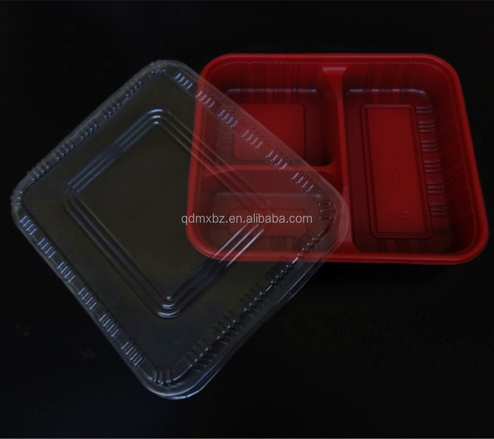 Disposable transparent plastic cake container/Swiss roll packaging box