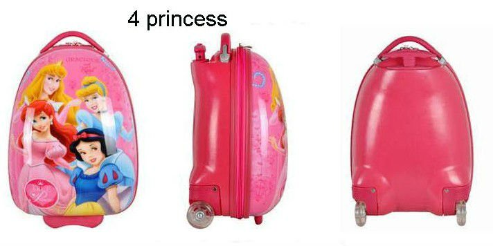Kids Luggage Bag With Hard Plastic Aluminum Trolley - Buy Kids ...