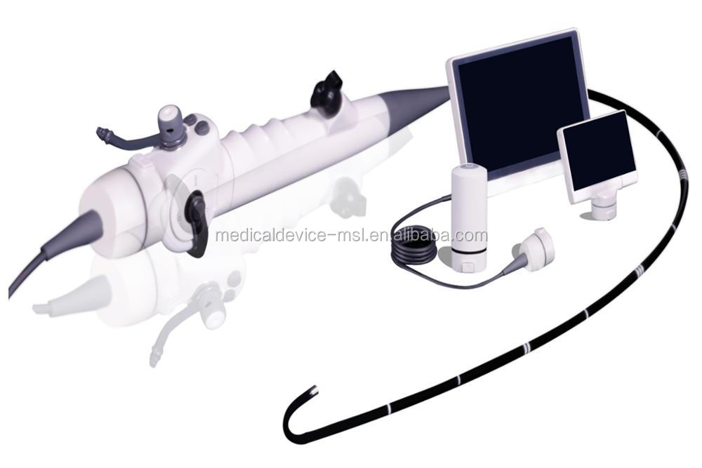 China best price of video endoscopy set with flexible monitor for Anesthesioloy, ICU, Pneumology - MSLVE Series