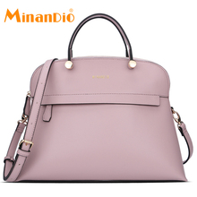 MINANDIO wholesale guangzhou pu leather women handbag factory fashion brand lady shoulder hand bags