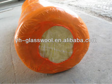 Shrink package glass wool heat insulation material for roofs