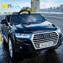 Licensed ride on SUV kids car Audi Q7 12v electric powerful cars for kids driving