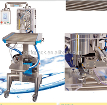 Automatic alcoholic beverages 5-22L bag in box filling sealing/capping machine with CE certificate