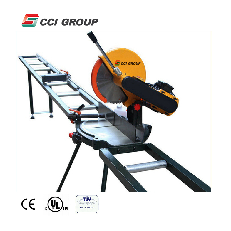 SJ01-300 single head <strong>cutting</strong> saw aluminum window machine