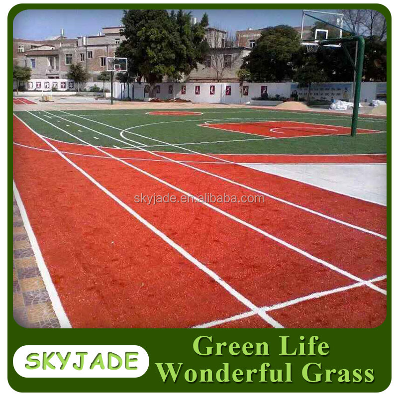 synthetic grass for Basketball Court, Tennis Court, gym with cheap price