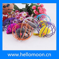 Eco-friendly Electronic Rolling Cage Remote Control Cat Toys