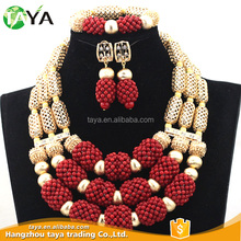 Latest Fashion Wedding Jewelry Sets African Beads Jewelry Set