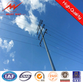 power distribution octagonal electric utility pole for powerful electrical line