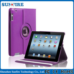 Hot Sale 360 Degree Rotating Smart Stay Tablet+Cover+For+Ipad+Air+2+Leather+Case