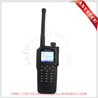 Protable DMR radio Kirisun digital walkie talkie DP770 DP770-V151-162MHz GPS handheld walkie talkies