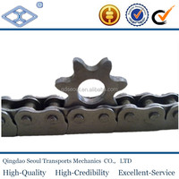 ANSI standard pitch 19.05 28T stainless steel high precision hard teeth double pitch sprocket 2060