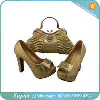 Handmade fashion evening shoes with matching bags matching shoes and bag italian shoes and bag set