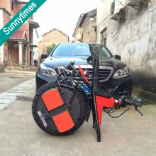 2017 Multipurpose Fashionable One Wheel Electric Car Motorcycle With side car LED Lighting