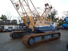 second hand kobelco crawler crane PH 7045, 45ton all parts are working well