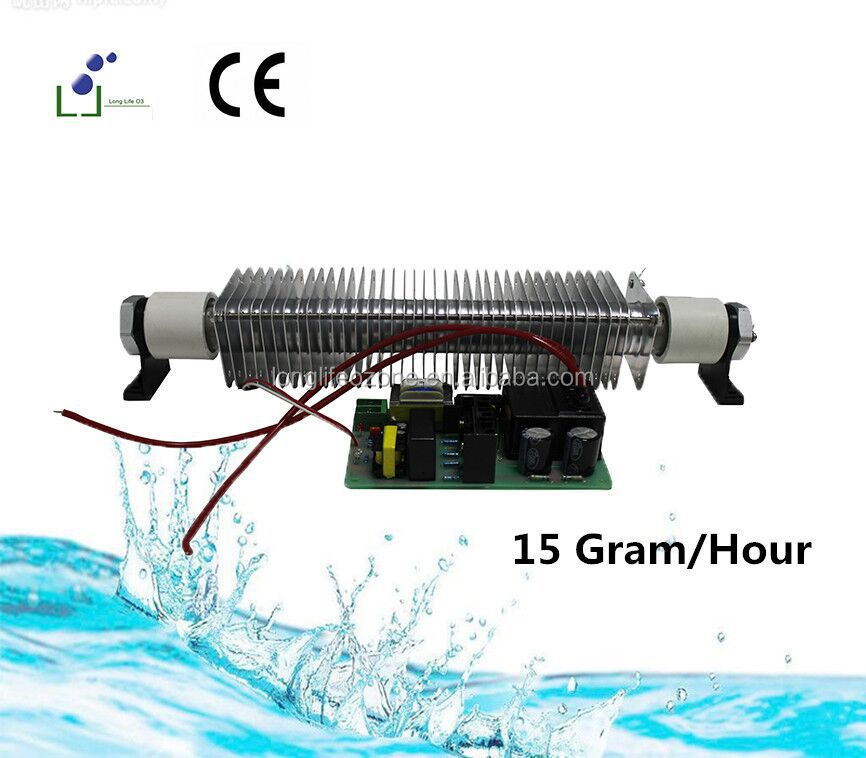New Model Corona Discharge 1/2/3/5/10/15/30/50 Gram water treatment Ozone glass tube/Ozone generator parts/generatore di ozono