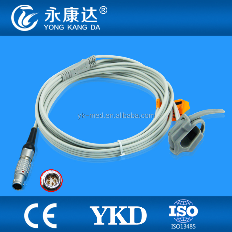 Biolight Neonate Silicon Wrap oxygen sensor probe,Metal 5 pin,model M69/M66
