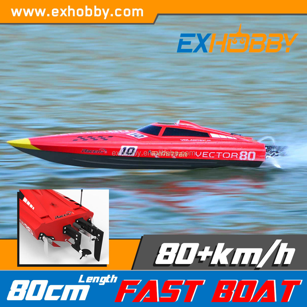80cm ABS plastic Electric hobby jet boat 60+KPH remote control boat