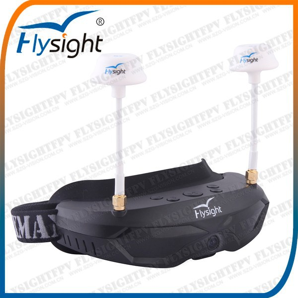 B751 Flysight New Headset Built in Camera HDMI Goggles Radio Remote Control Balloon Airplane With 540 brushless motor