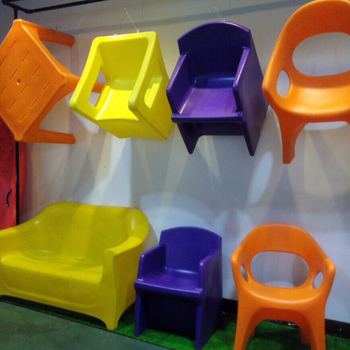 customized plastic children chair rotomolding mold