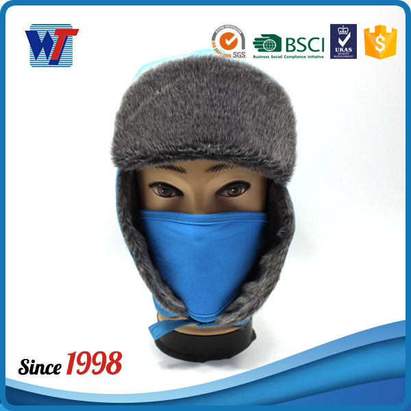 style fur embroidered uniform blue military hat for sale