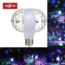 Top selling RGB rotating color led light crystal stage light led disco light ball