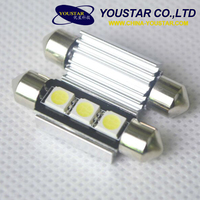Car led lamp 5050 festoon c5w 36mm canbus led for car