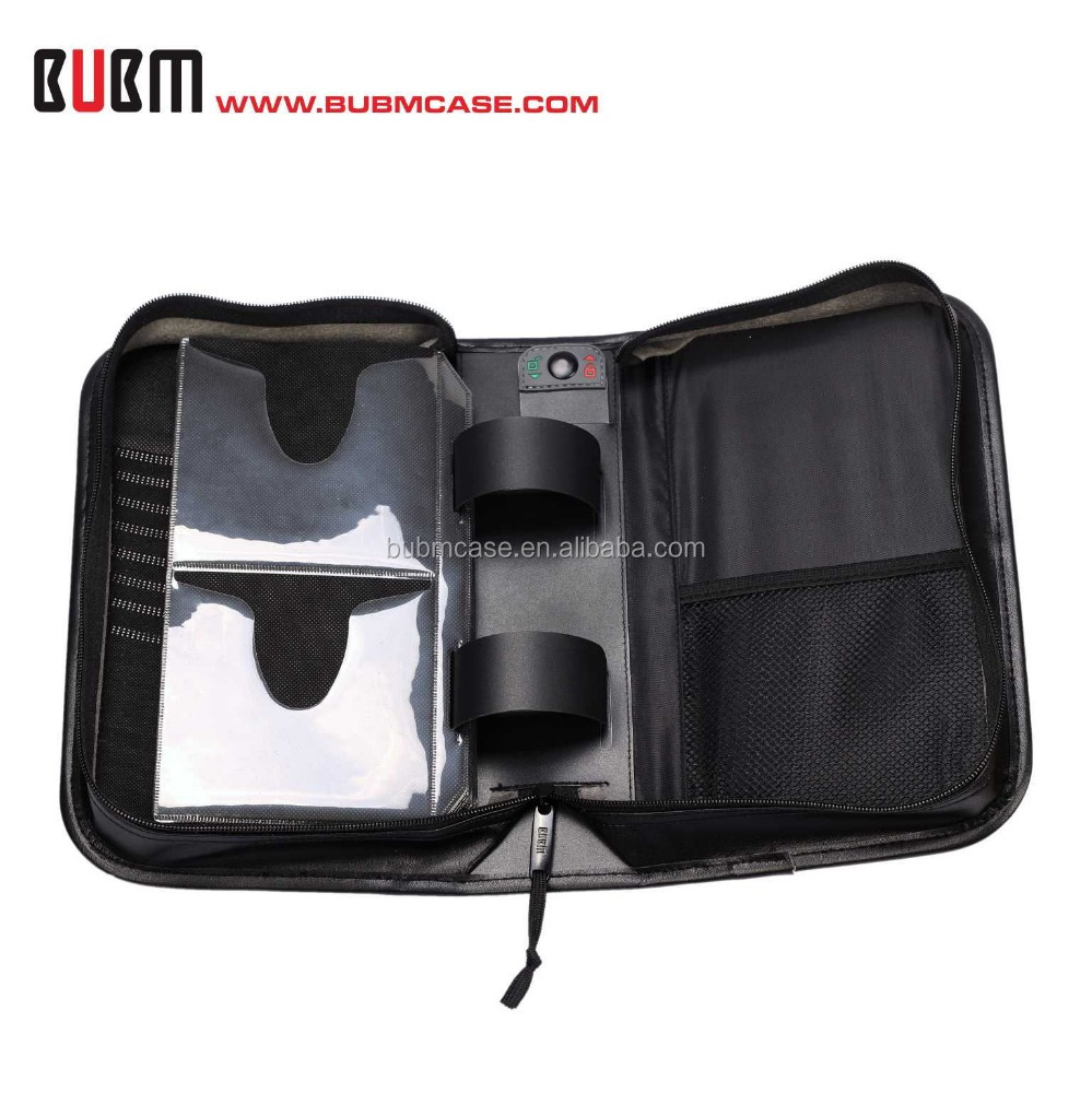 2015 HOT SALE Fashion 92+8 Capacity PU Leather CD Storage DVD case Wholesale