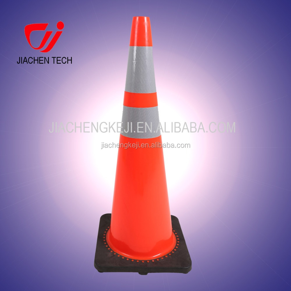 900mm High quality Reflective PVC traffic cone